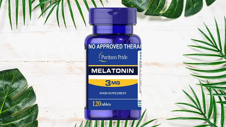Melatonin 3mg Puritan's Pride đến từ Mỹ giúp chữa mất ngủ