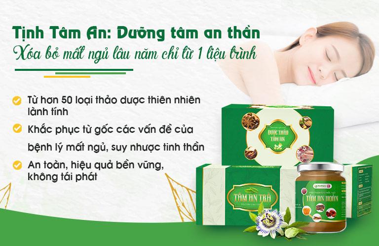 Combo Tịnh Tâm An được lấy cảm hứng từ bài thuốc của Thần y Hoa Đà