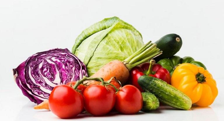 Bổ sung thật nhiều rau xanh vào chế độ ăn uống hàng ngày