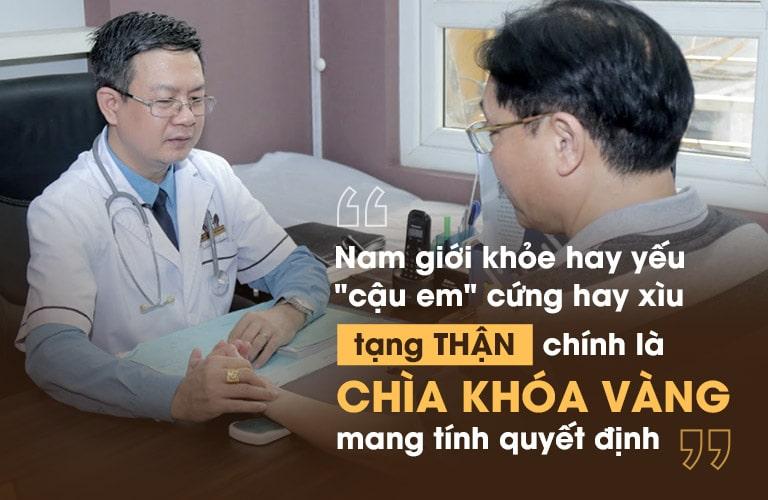Tạng thận chính là chìa khóa quyết định sức khỏe sinh lý nam