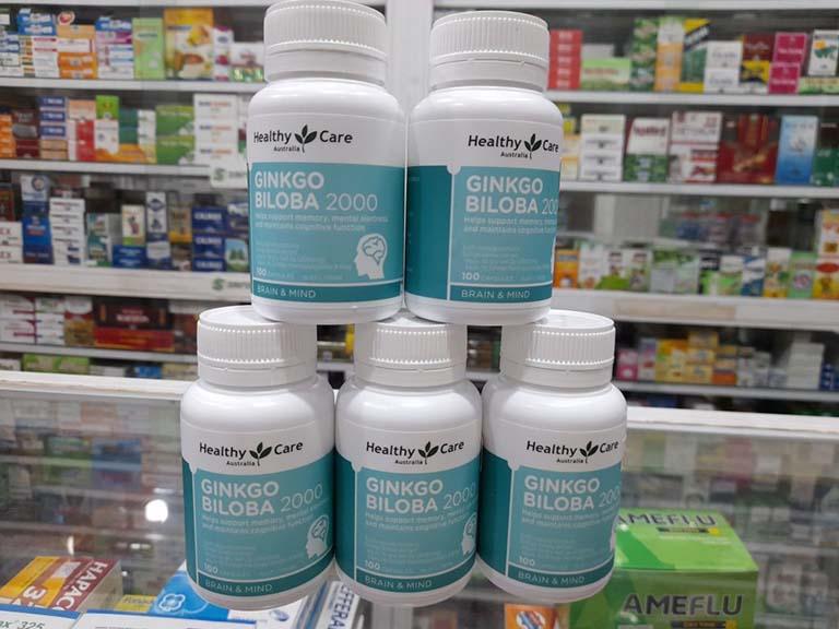 Ginkgo Biloba Healthy Care của Úc được đánh giá là sản phẩm rất tốt