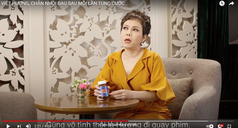 Diễn viên Việt Hương chia sẻ về sản phẩm
