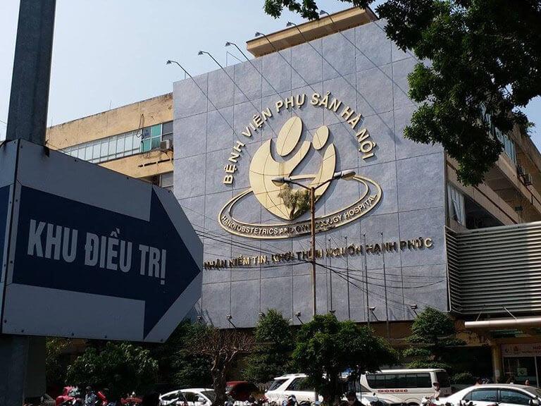 Bệnh viện Phụ sản Hà Nội quy tụ đội ngũ y bác sĩ giàu kinh nghiệm