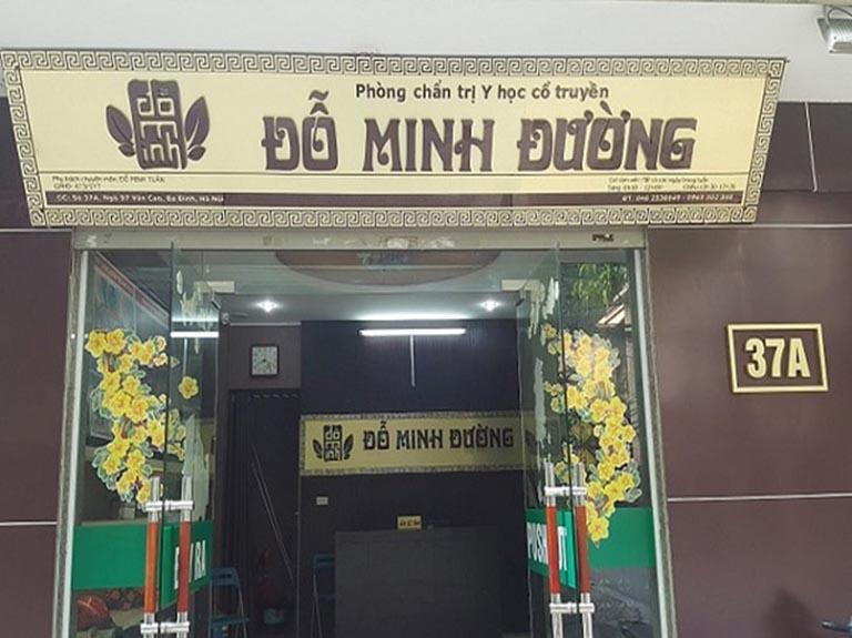 Nhà thuốc Đỗ Minh Đường chữa bệnh phụ khoa