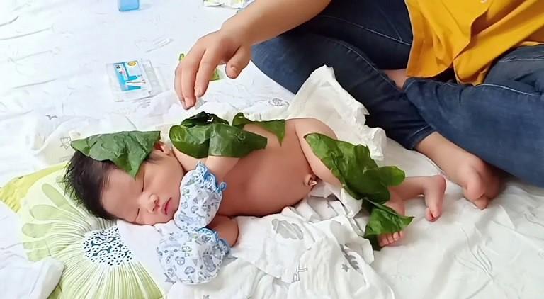 Trầu không được sử dụng rất phổ biến để điều trị bệnh cho trẻ nhỏ