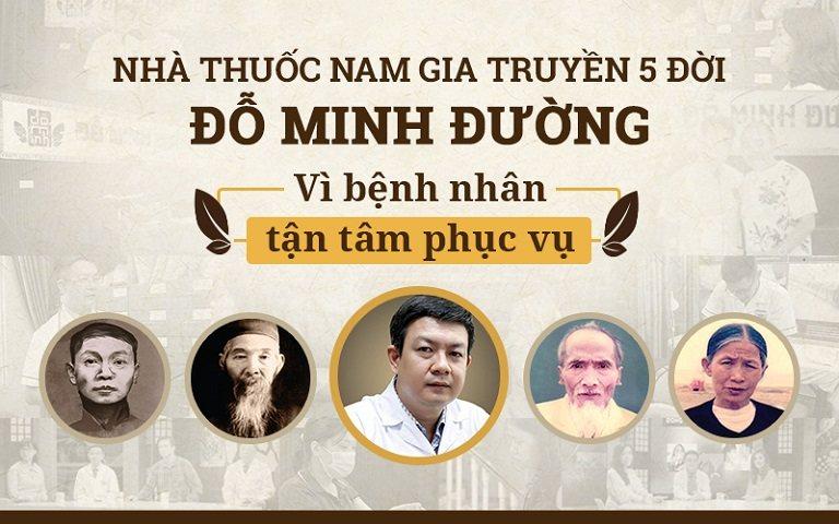 Nhà thuốc Đỗ Minh Đường - Đơn vị Chẩn trị YHCT 5 đời