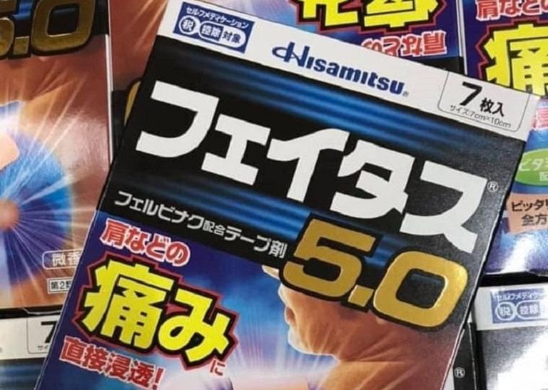 Miếng dán Hisamitsu 5.0 của Nhật