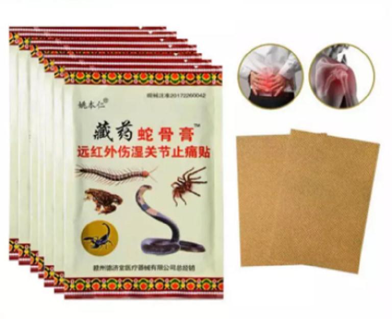 Miếng dán Sumifun giúp giảm đau vai gáy