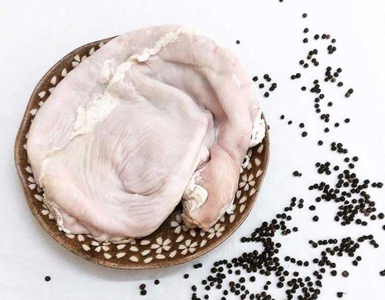 Dạ dày heo có rất nhiều công dụng tốt với bệnh dạ dày