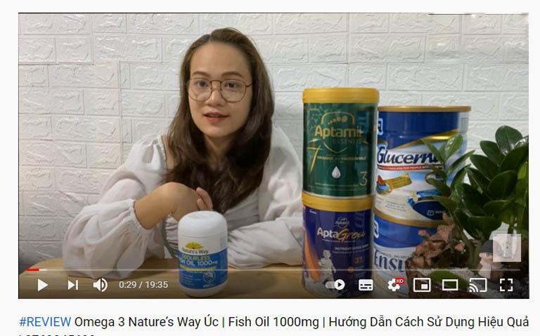 Review về sản phẩm trên youtube