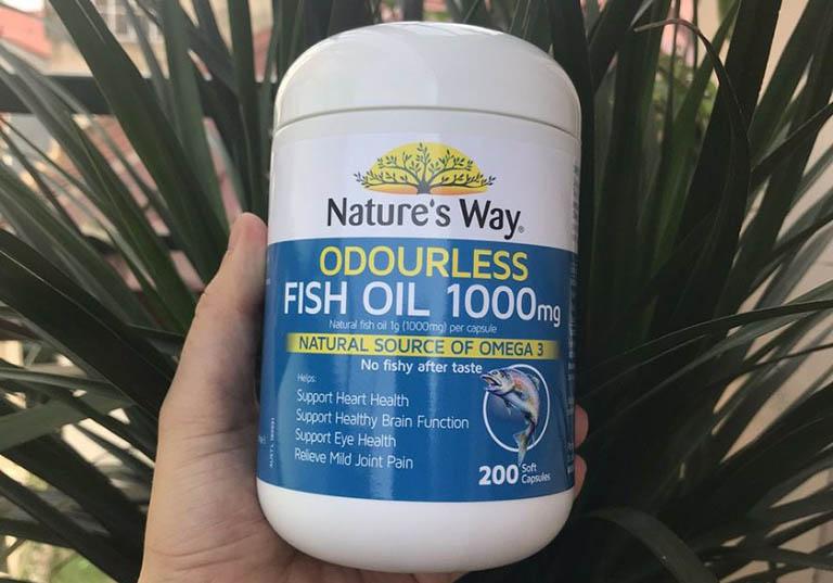 Nature's Way Fish Oil 1000mg 200 Capsules là sản phẩm đến từ Úc