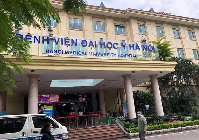 Khoa Răng Hàm Mặt thuộc bệnh viện Đại học Y Hà Nội