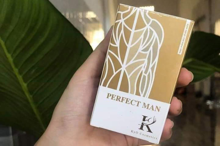 Perfect Man là thực phẩm chức năng khá nổi tiếng giúp nâng cao sức khỏe sinh lý cho nam giới