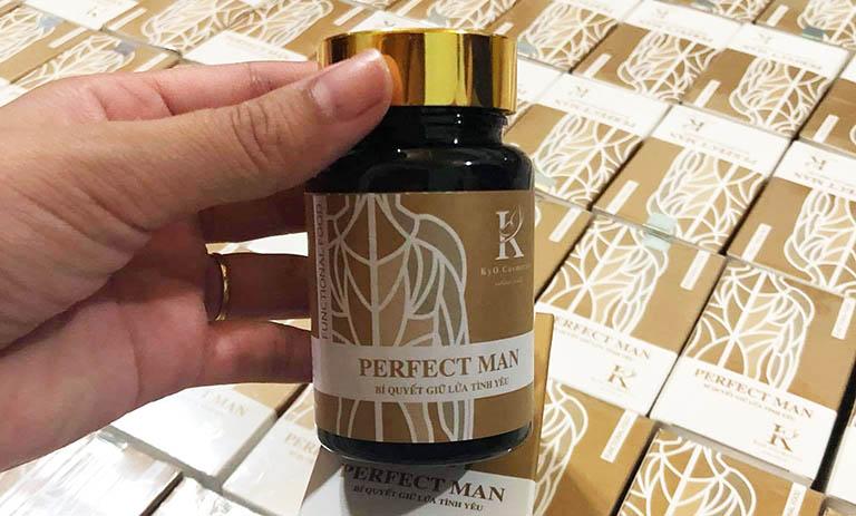 Với câu hỏi viên uống Perfect Man có tốt không, có thể khẳng định sản phẩm rất tốt