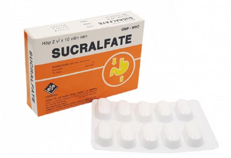 Thuốc trị đau dạ dày hiệu quả Sucralfate