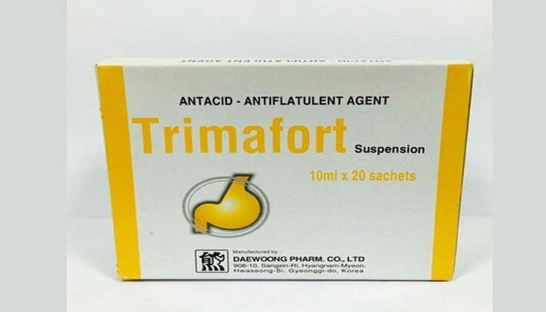 Thuốc trị đau dạ dày Trimafort nhanh chóng
