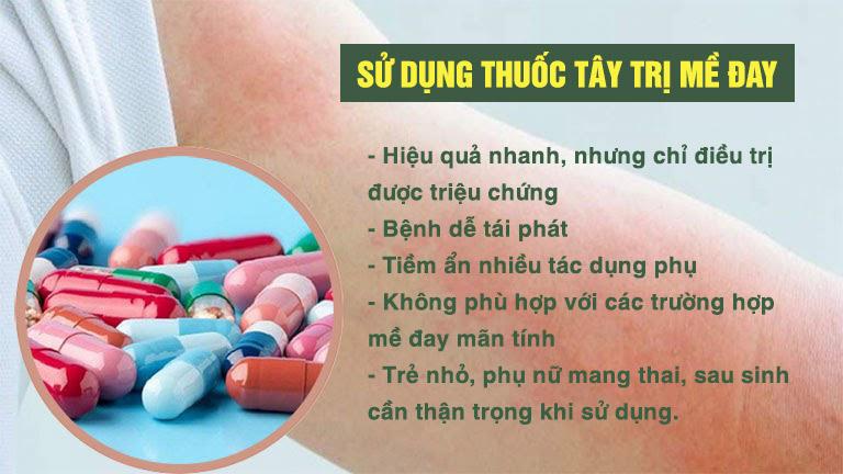 Thuốc tây tiềm ẩn nhiều tác dụng phụ và không thể điều trị bệnh dứt điểm
