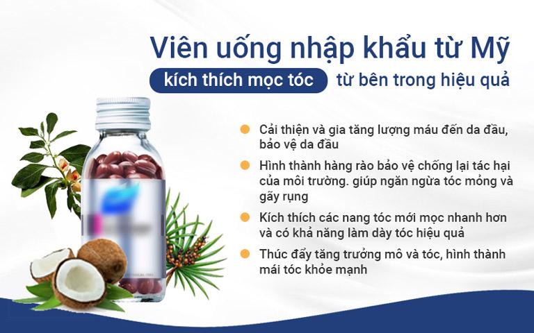 Công dụng của Viên uống Hush & Hush
