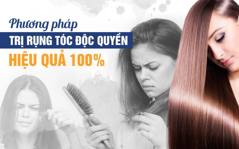 Phác đồ điều trị rụng tóc của Viện Da liễu Hà Nội - Sài Gòn rất an toàn và đem lại hiệu quả nhanh chóng