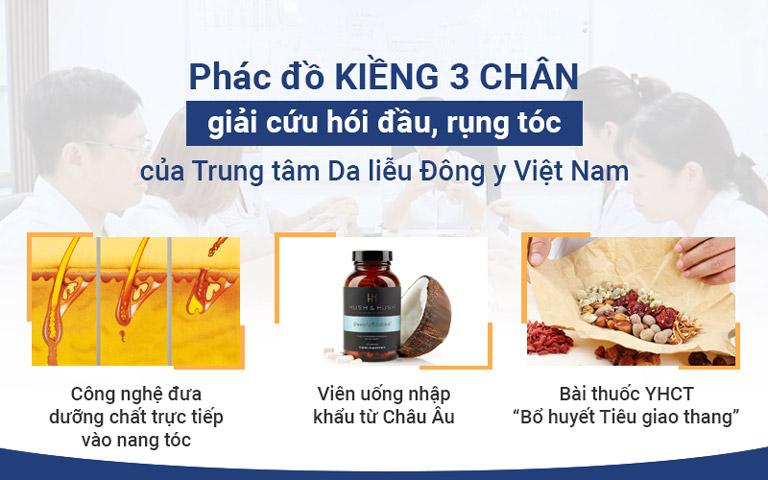 """Phác đồ """"kiềng 3 chân"""" toàn diện được Viện Da liễu Hà Nội - Sài Gòn áp dụng"""