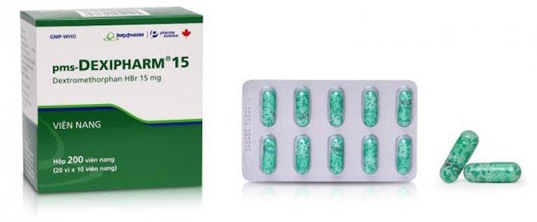 Thuốc trị viêm phế quản giúp giảm ho, long đờm Dextromethorphan cải thiện nhanh tình trạng bệnh