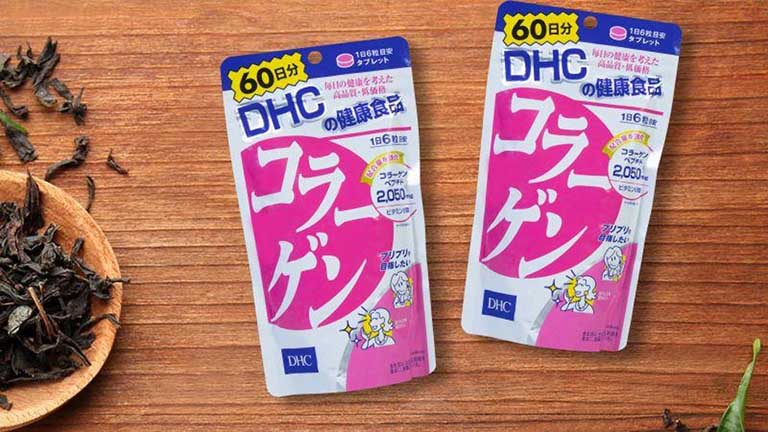 Viên uống làm đẹp da DHC collagen Nhật Bản đến từ thương hiệu DHC nổi tiếng