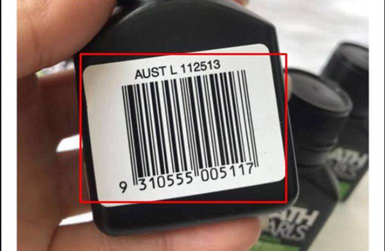 Người tiêu dùng nên check mã vạch sản phẩm