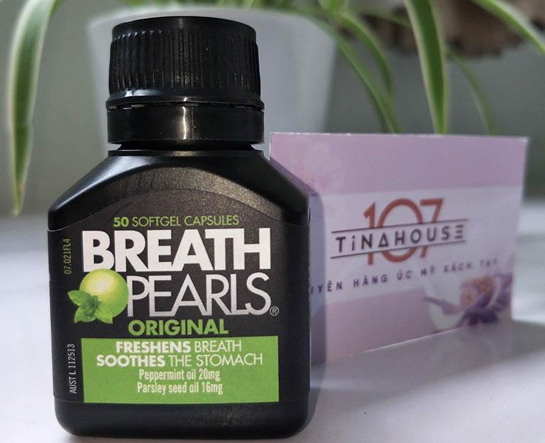 Viên uống thơm miệng Breath Pearls có nhiều công dụng tuyệt vờ