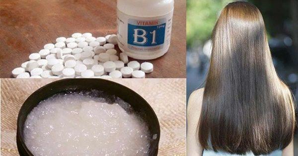 """B1 được xem là """"thần dược"""" chữa rụng tóc và kích thích mọc tóc"""
