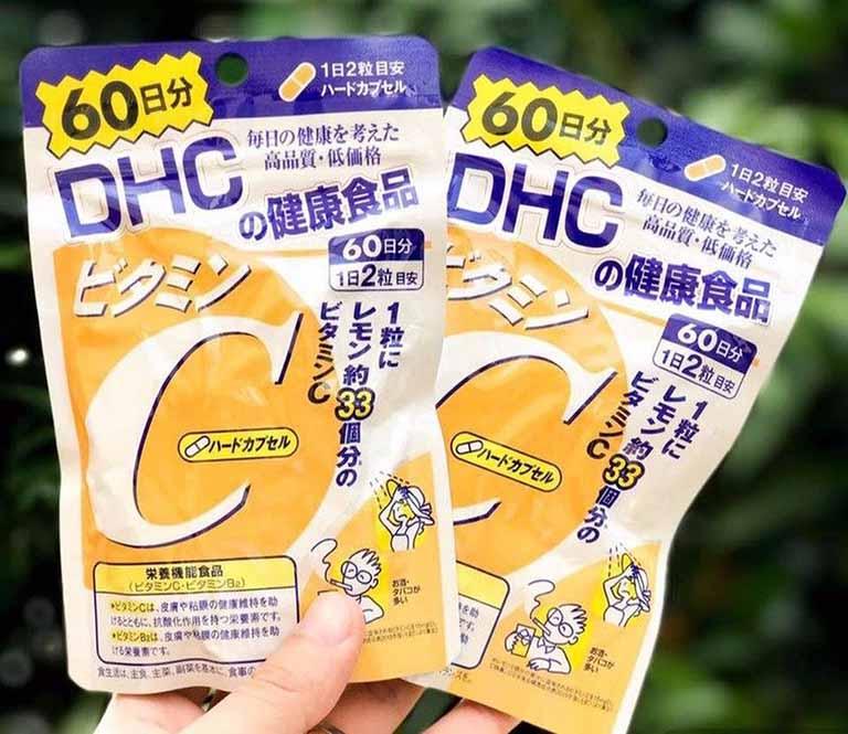 Vitamin C DHC có thành phần chính là hàm lượng vitamin C vừa đủ