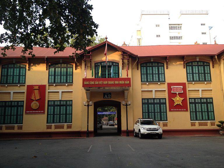Bệnh viện Việt Đức là địa chỉ chữa bệnh gout cấp tính hiệu quả