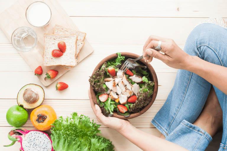 Người bệnh nên ăn nhiều thực phẩm giàu dinh dưỡng