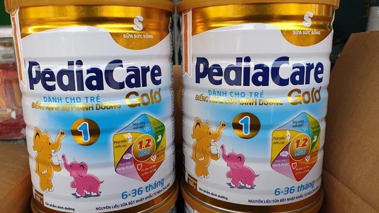 Pediacare Gold là sữa được nhiều cha mẹ tin dùng