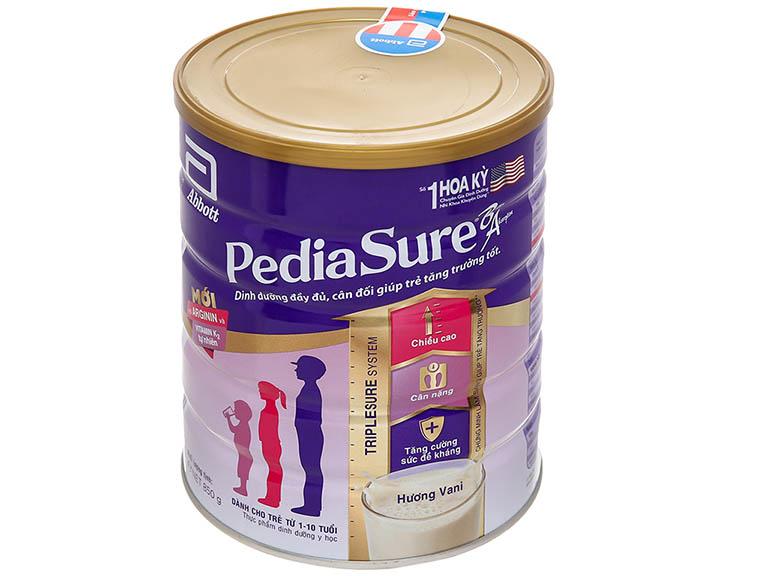 Abbott Pediasure B/A là sữa cho bé còi xương, chậm lớn khá nổi tiếng hiện nay
